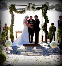 wedding chuppah rental arc de s tropical wedding altar chuppah canopy rentals miami