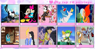 ten favorite couples marcospower1996 deviantart