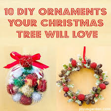 10 diy ornaments your tree will