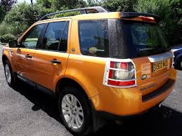 landrover freelander 2 hse 2 2 td4 tambora flame gold private