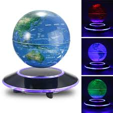 outlet jeteven 6 u0027 u0027 magnetic rotating globe anti gravity floating