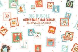 christmas calendar photos graphics fonts themes templates