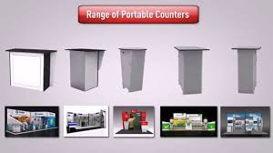 Best Counter Best And High Quality Portable Counter For Exhibition Stands Youtube