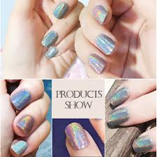 Nail Decorations Aliexpress Com Buy Gorgeous Rainbow Holographic Laser Powder