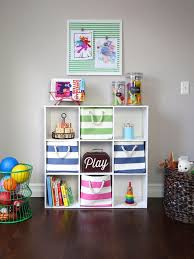 Bookshelf Organization Kids Playroom Storage Ideas Repurposed Kids Playroom Storage Hgtv