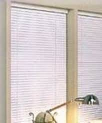 Alabaster Blinds Vinyl 1 Inch Mini Blind Black35x64 From Achim Imports
