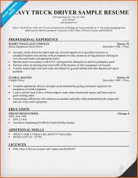 Sample Resume Truck Driver by 6 Truck Driver Resume Sample Budget Template Letter