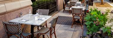 Restaurant Patio Tables by Downtown Denver Restaurants The Nickel