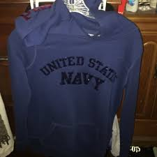 72 off victoria u0027s secret tops used vs pink us navy hoodie from