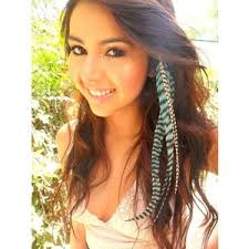 feather hair extensions feather hair extension colorful cool mania