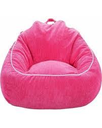 don u0027t miss this bargain xl corduroy bean bag chair pink