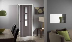 Interior Glazed Doors White by Contemporary Internal Doors Real Homes