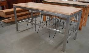 stainless steel bar table wa made marri jarrah dining tables cellar bar tables general