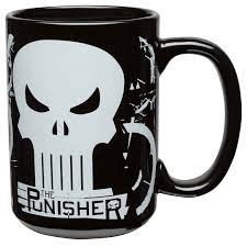 the punisher coffee mug set for sale zak zak designs