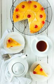 easy gluten free pineapple upside down cake