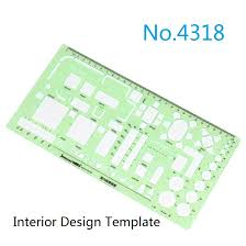 Interior Design Drafting Templates by Online Shop Drawing Templates Ruler For Furniture Power