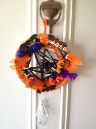 halloween wreath door decoration my kid craft