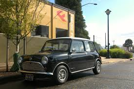 old parked cars 1969 austin seven mini