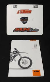 ktm 2016 125 150 250 sx 250 300 xc owners manual book instructions