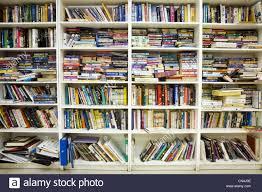 books on bookshelves stock photo royalty free image 47430446 alamy