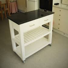kitchen island trolleys handmade solid eco wood kitchen island trolley with granite top uk