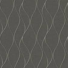 york wallcoverings tone on tone waves dark grey peelable paper