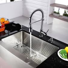 designer kitchen taps sinks and faucets gooseneck faucet kitchen faucet with sprayer