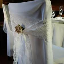 lace chair sashes alternative to chair sashes wedding forum you your wedding