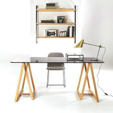 ikea bureau treteau bureau treteau verre d licieux bureau plateau verre ikea table blanc