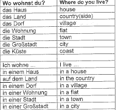 homework year 8 german