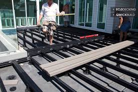 how to build a deck nz feature kit set decking materials and installation