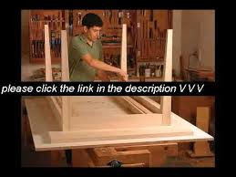 Drafting Table Plans Drafting Table Woodworking Plans Youtube