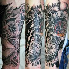clock tattoo ideas for men 纹身 pinterest clock tattoo