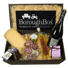 Cheese Gift Prosecco And Cheese Hamper Boroughbox
