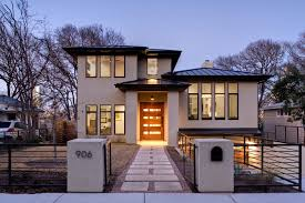 Industrial Modern House White Modern House Architecture In European With Amazing Design