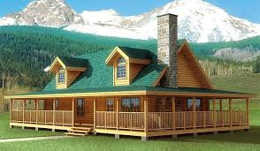 log cabins house plans the best of log cabin house plans with wrap around porches new
