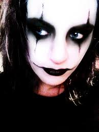 the crow makeup by wirehea thatrangakid on deviantart