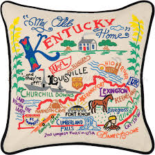 Home Decor Louisville Ky Kentucky Pillow I Would Want This If The Uofl Flag Wasn U0027t So