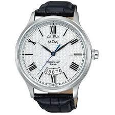 Jam Tangan Alba Putih harga alba jam tangan pria silver putih hitam au2087x1