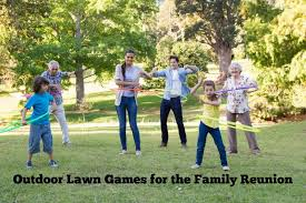 outdoor lawn for your family reunion