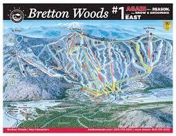 Green Circle Trail Map Trail Map Bretton Woods