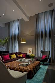 Interior Design High Ceiling Living Room Outstanding Ideas For Decorating Living Room With High Ceiling