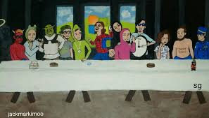 Last Supper Meme - the last supper memes papa bless by jackmarkimoo on deviantart
