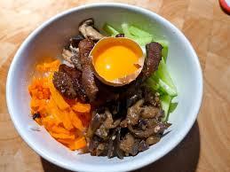 cuisine cor馥nne recette bibimbap maison une recette coréenne jour après jour bouffe