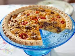cuisine quiche country quiche recipe trisha yearwood food