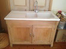 Sink Units Kitchen Shaker Style Belfast Sink Kitchen Unit Complete W Top Taps Gold