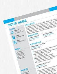 38 best resume images on pinterest resume templates resume