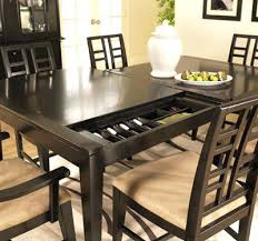 Corner Bench Dining Room Table With Storage Dining Table And - Counter height dining room table with storage