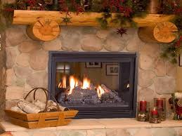 rustic stone fireplaces interior rustic stone fireplace with log and timber mantel for