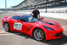 corvette stingray green ya author john green to drive corvette pace car at indy grand prix